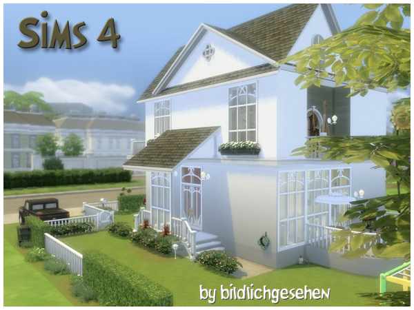 Villa HAMBURG (no cc) by Bildlichgesehen at Akisima image 132 Sims 4 Updates