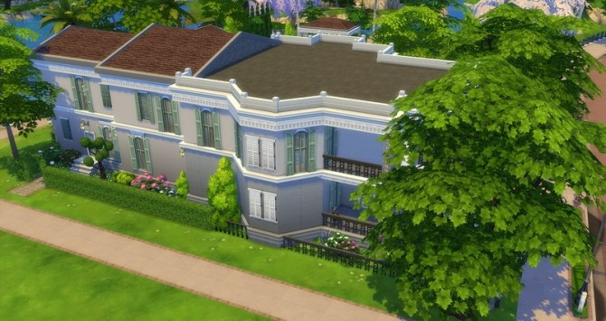 Mayfair house by Angerouge at Studio Sims Creation image 13214 670x355 Sims 4 Updates