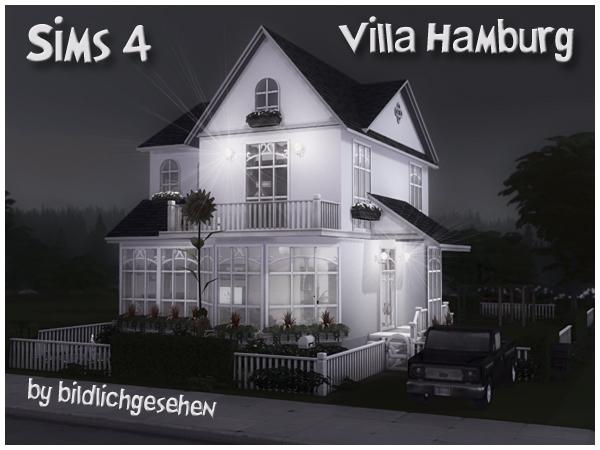 Villa HAMBURG (no cc) by Bildlichgesehen at Akisima image 133 Sims 4 Updates