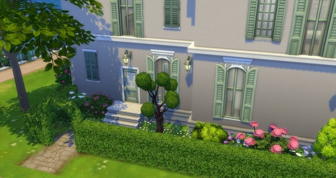 Mayfair house by Angerouge at Studio Sims Creation image 13312 670x355 Sims 4 Updates