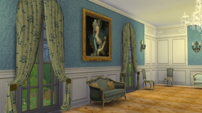 Trianon Wall Set 1 at Regal Sims image 1337 670x377 Sims 4 Updates