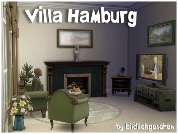 Villa HAMBURG (no cc) by Bildlichgesehen at Akisima image 134 Sims 4 Updates