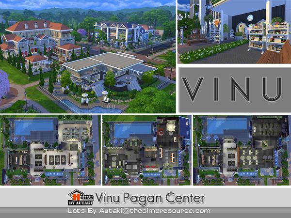 Sims 4 Vinu Pagan Center by autaki at TSR