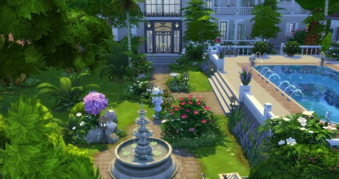 Mayfair house by Angerouge at Studio Sims Creation image 13610 670x355 Sims 4 Updates