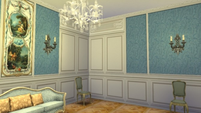 Trianon Wall Set 1 at Regal Sims image 1367 670x377 Sims 4 Updates