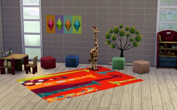 Zoo carpet at ihelensims image 13712 670x419 Sims 4 Updates