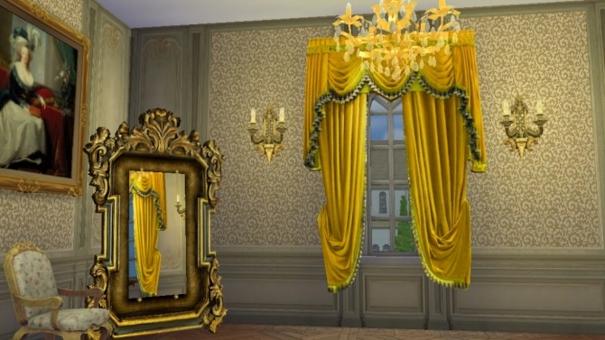 Italian Baroque Wall Set at Regal Sims image 1376 670x377 Sims 4 Updates