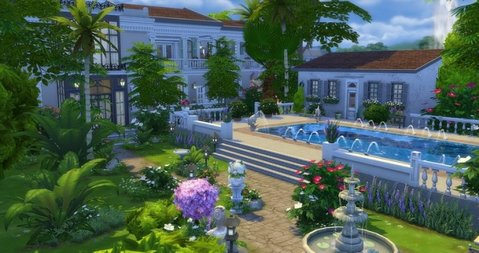 Mayfair house by Angerouge at Studio Sims Creation image 13781 670x355 Sims 4 Updates