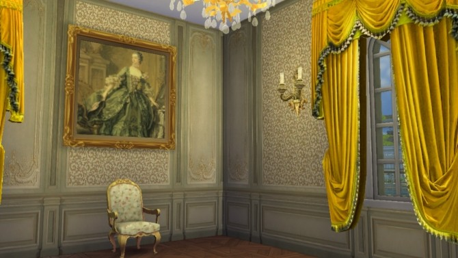 Italian Baroque Wall Set at Regal Sims image 1399 670x377 Sims 4 Updates