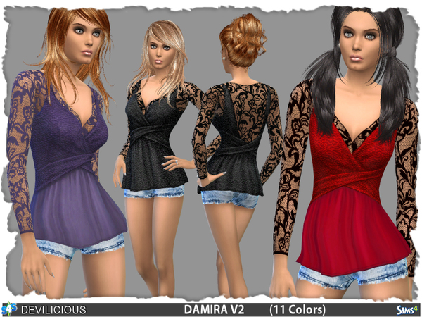 Damira Outfit Set by Devilicious at TSR image 14010 Sims 4 Updates