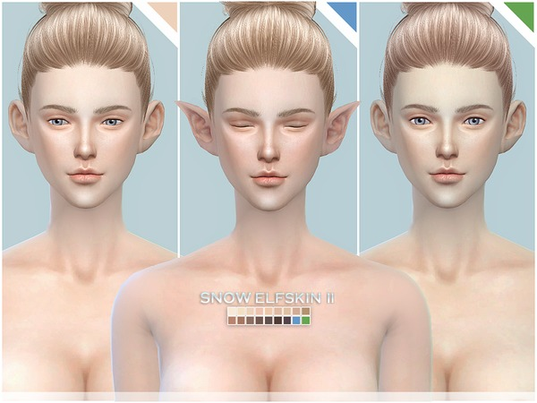 Snow Elf skintones all age II by S Club at TSR image 14105 Sims 4 Updates