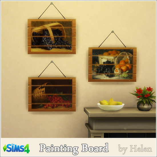 Painting Board at Helen Sims image 1418 Sims 4 Updates