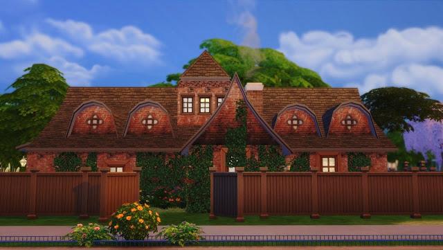 Sims 4 Small manor at Angelina Koritsa