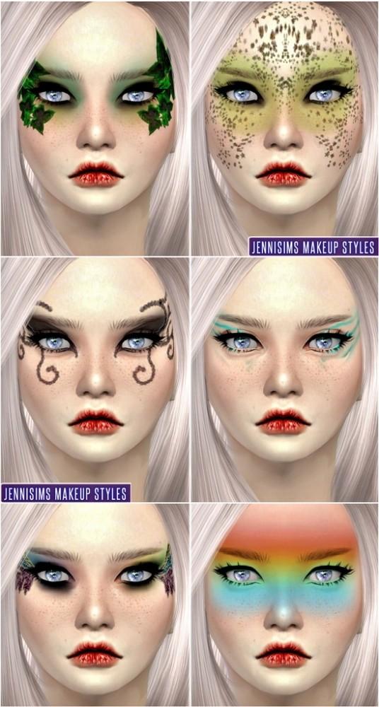 Sims 4 So Soft Fantasy Fairies EyeShadow at Jenni Sims