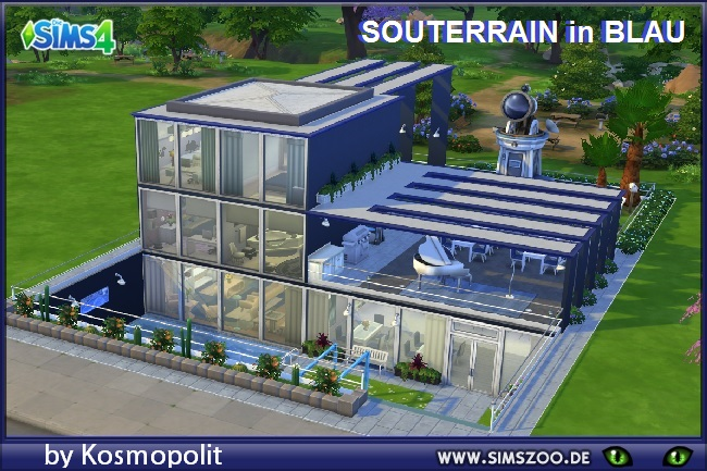 basement in blue house by kosmopolit at blacky s sims zoo sims 4
