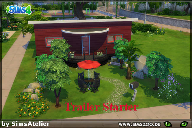 Trailer Starter by SimsAtelier at Blacky's Sims Zoo image 1495 Sims 4 Updates