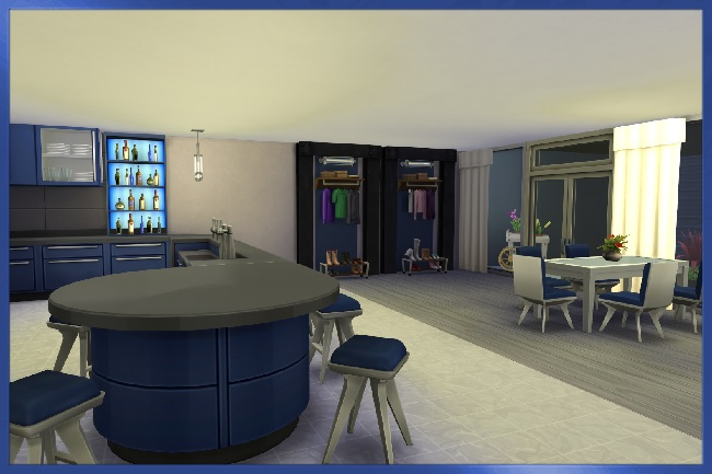 the home designers basement in blue house by kosmopolit at blacky s sims zoo 15118