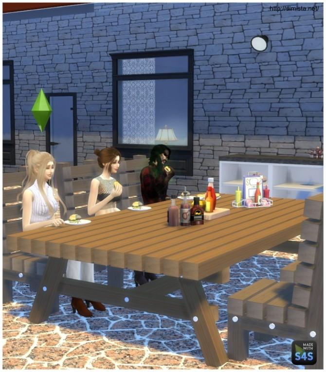 Sims 4 Outdoor Timber Set at    select a Sites
