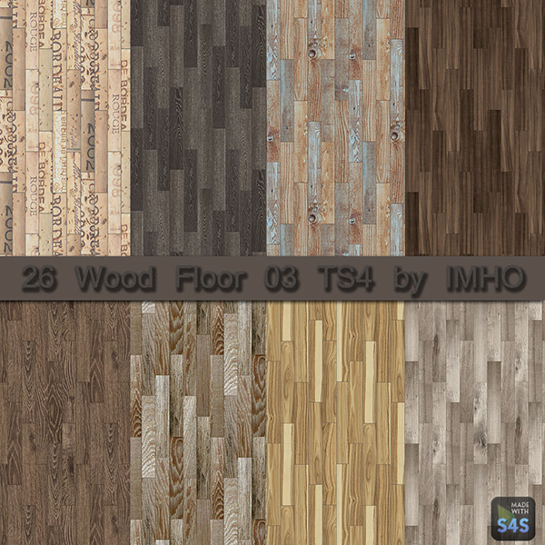 Sims Floor Elevation Cheat : Wood floor ts by imho at sims updates