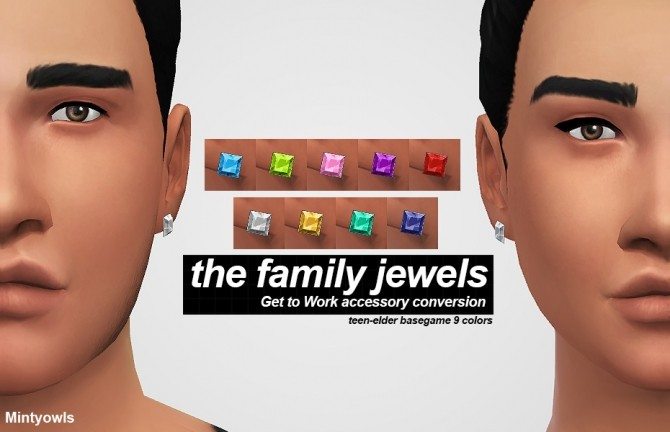 Sims 4 THE FAMILY JEWELS GTW CONVERSION at MintyOwls
