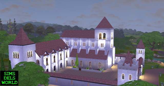 Medieval Monastery at SimsDelsWorld image 1624 Sims 4 Updates