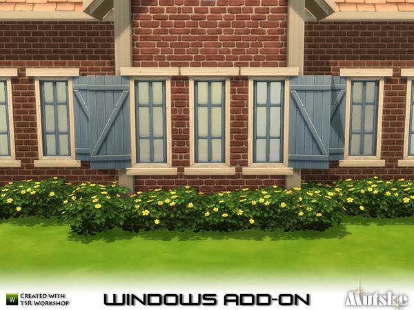 Sims 4 EA Window Add on Part 2 by mutske at TSR