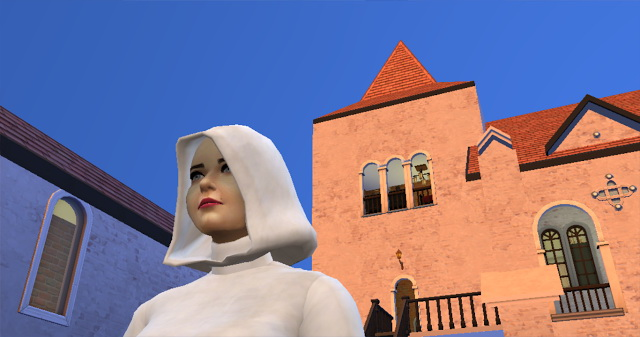 Medieval Monastery at SimsDelsWorld image 1675 Sims 4 Updates