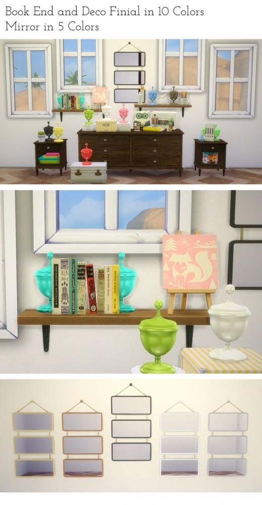 Sims 4 Vienna Bedroom at Saudade Sims
