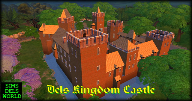 Dels Kingdom Castle at SimsDelsWorld image 1694 Sims 4 Updates