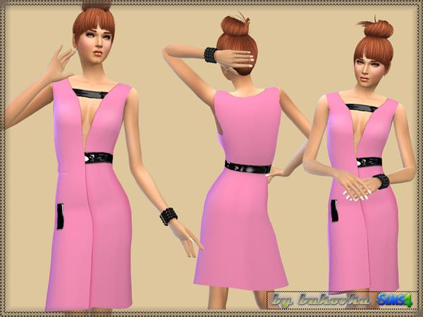 Sims 4 Dress Summer Party by bukovka at TSR
