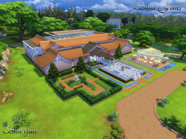 Sims 4 The SimSPA by Sim4fun at Sims Fans
