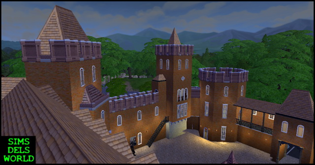 Dels Kingdom Castle at SimsDelsWorld image 1704 Sims 4 Updates