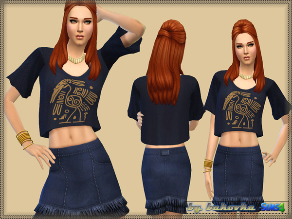 Sims 4 Set Maya by bukovka at TSR