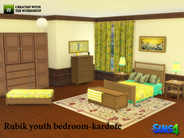 Sims 4 Daisy Master bedroom by kardofe at TSR