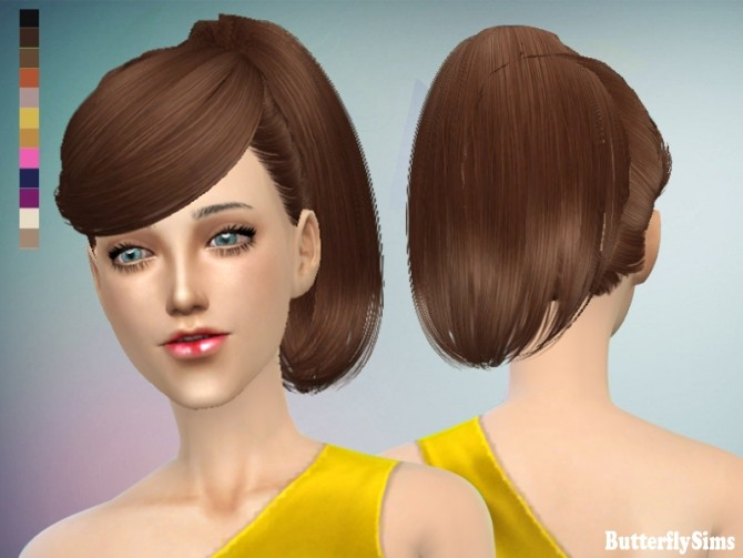 B fly hair 130 no hat (Pay) at Butterfly Sims image 1760 670x503 Sims 4 Updates