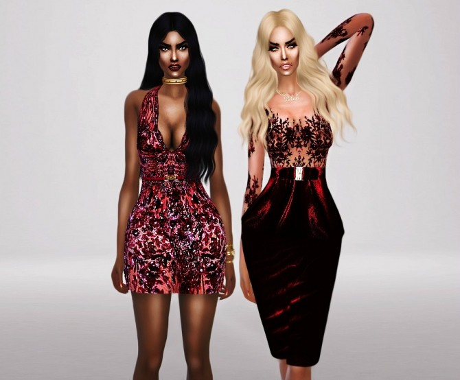 Sims 4 Z.M. Haute Couture Fall 2012 at Fashion Royalty Sims