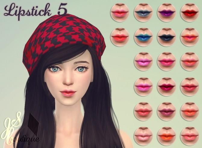 Lipstick #5 at JSBoutique image 1805 670x490 Sims 4 Updates