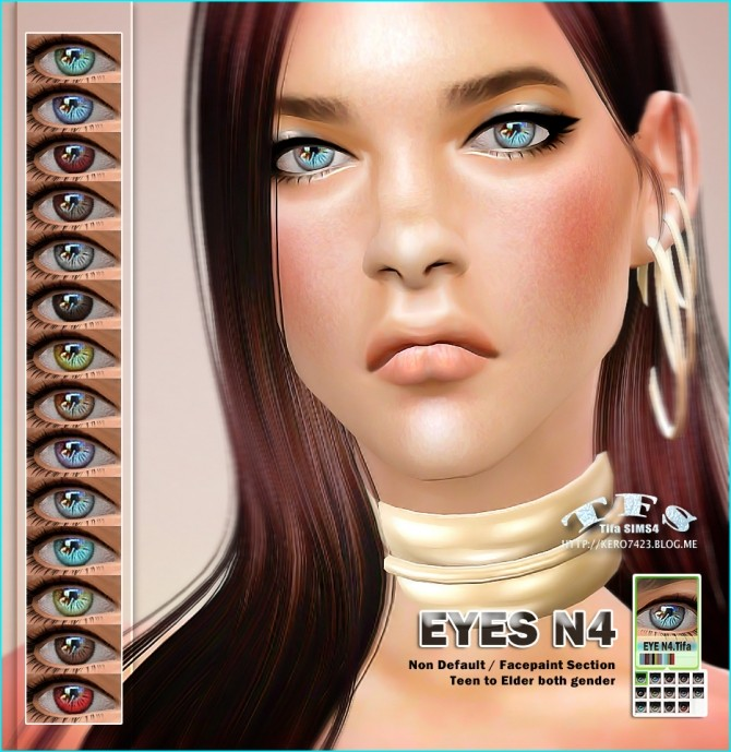 Sims 4 Eyes N4 at Tifa Sims