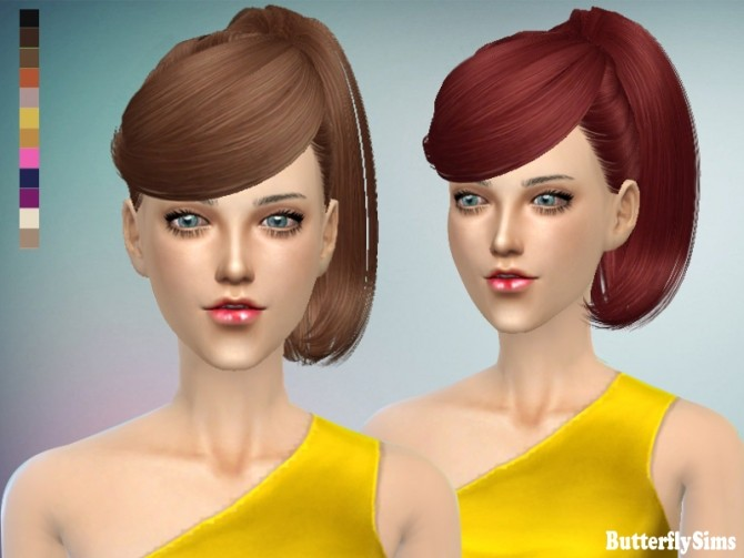 B fly hair 130 no hat (Pay) at Butterfly Sims image 1846 670x503 Sims 4 Updates