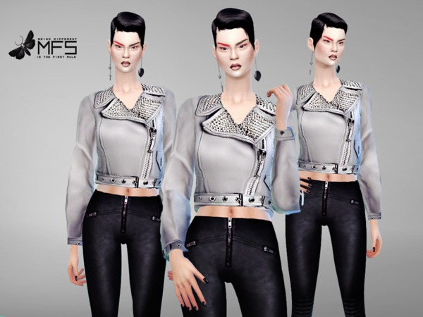 MFS Lola Jacket by MissFortune at TSR image 1865 Sims 4 Updates