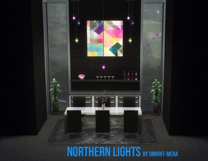 Northern Lights At Omorfi Mera 187 Sims 4 Updates