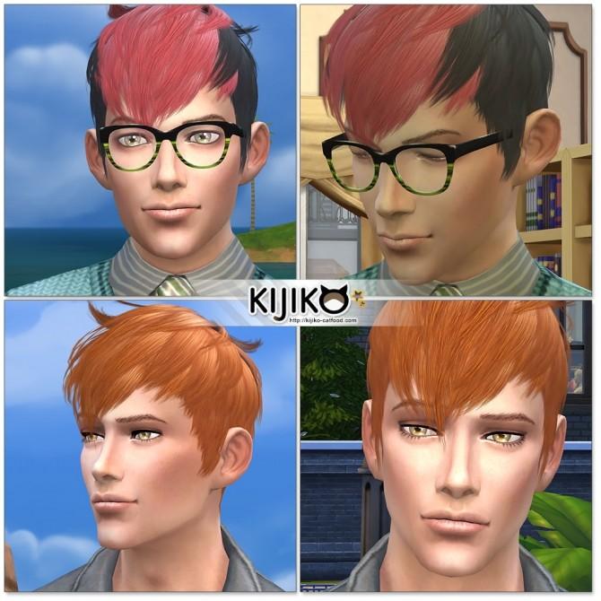 Sims 4 Panda Kang Kang TS3 to TS4 conversion for males at Kijiko