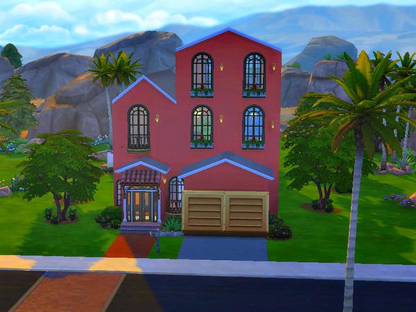 Sims 4 Morrocan House by mecha244 at TSR