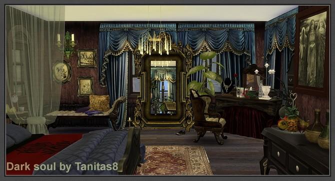 Sims 4 Dark soul house at Tanitas8 Sims