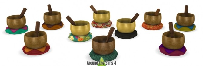 Sims 4 Meditation Time set at Around the Sims 4