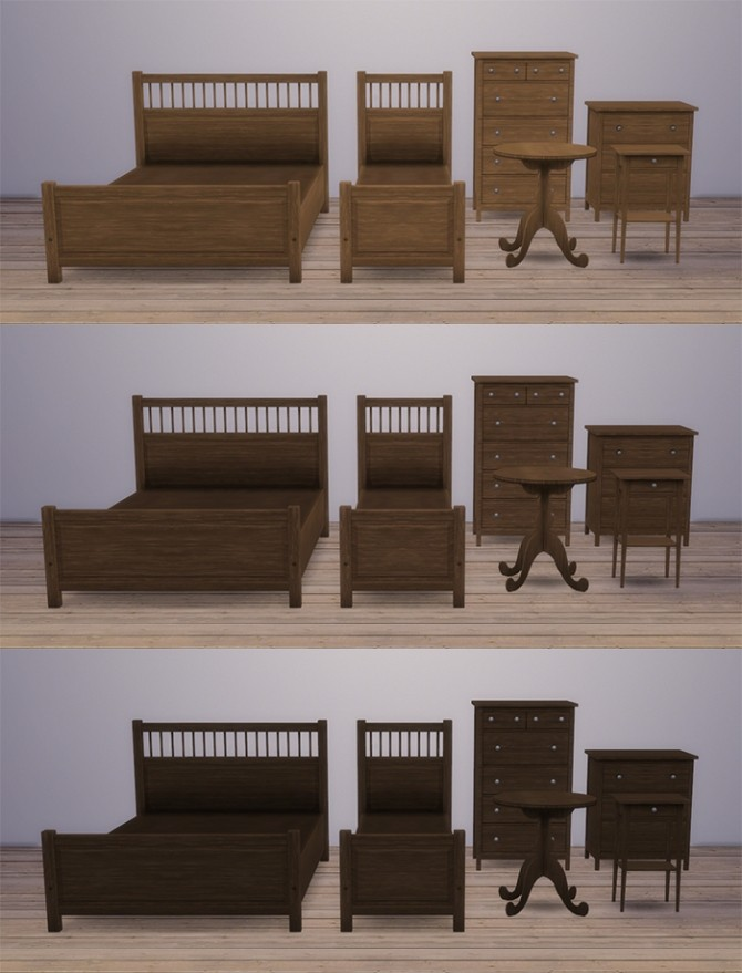 Hemnes Set Raw Wood At Simsrocuted Sims 4 Updates