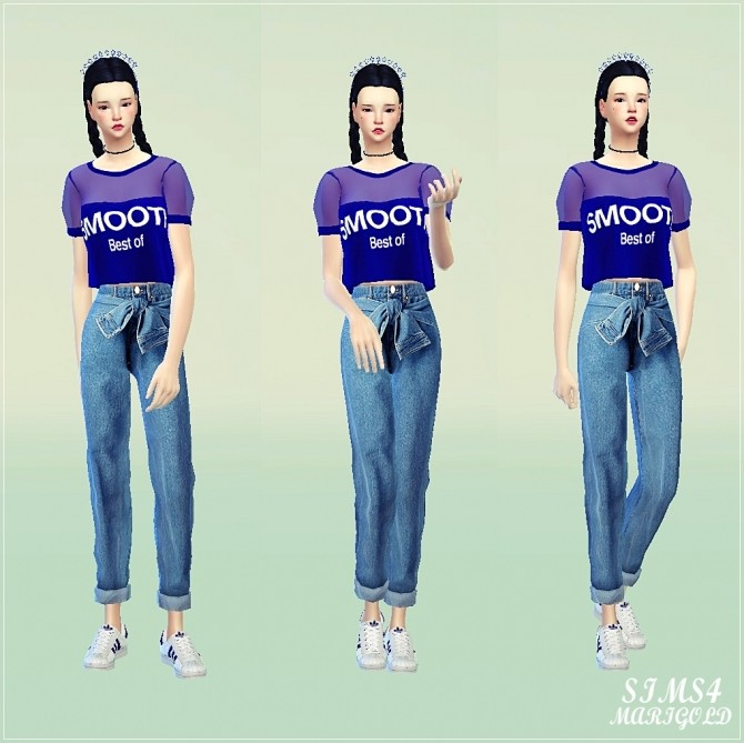 Puff sleeve top at Marigold image 2014 670x669 Sims 4 Updates