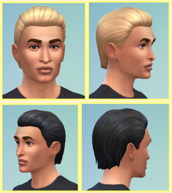 Sims 4 Short Wetmale hair at Birksches Sims Blog