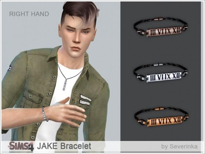 Sims 4 JAKE necklace & bracelet at Sims by Severinka