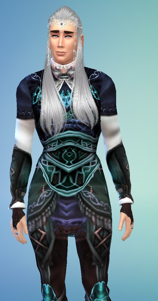 Sims 4 Lee Pace as Thranduil at Birksches Sims Blog